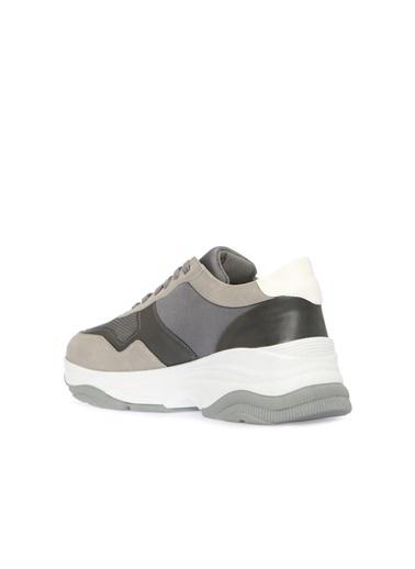 Divarese 5024141 Kalın Taban Erkek Sneaker Renkli